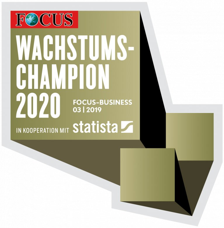 FOCUS label Growth Champion 2020